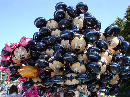 Disneyland, Paris, Disneyland Paris, Theme, Balloons