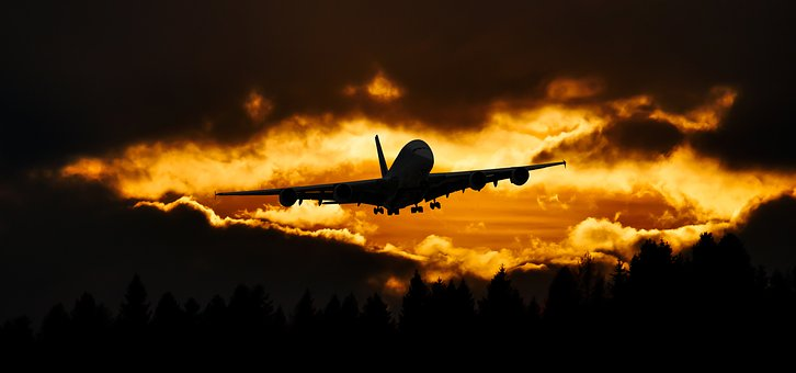 Travel, Fly, Aircraft, Sky, Holiday, Holidays, Start