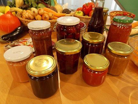 Winter Stores, Jar, Food, Winter, Glass, Homemade