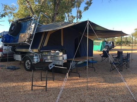 Camping, Camp, Camper, Camping Trailer, Outdoors