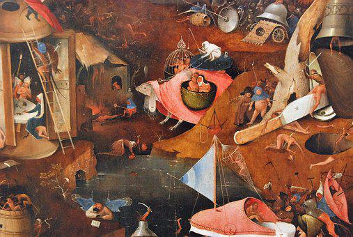 Jeroen Bosch, The Last Judgement, Painting, Religion