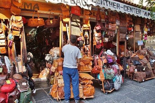 Bag, Handbag, Sale, Shop, Rhodes, Leather, Skin
