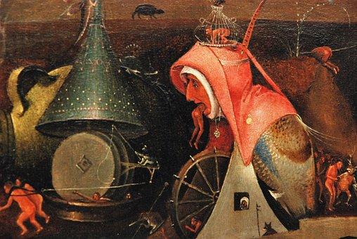 Jeroen Bosch, The Last Judgement, Painting, Religion