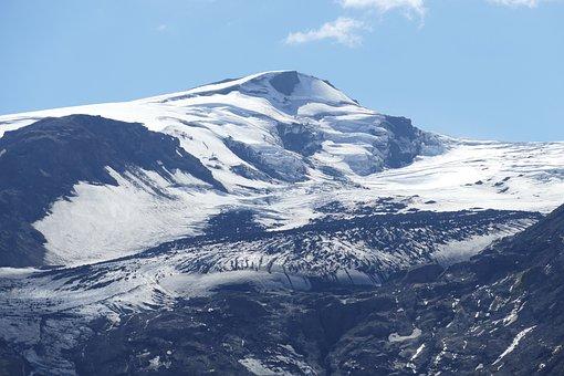 Iceland, Thor Mark, Eyjafjallajökull, Summit, Mountains