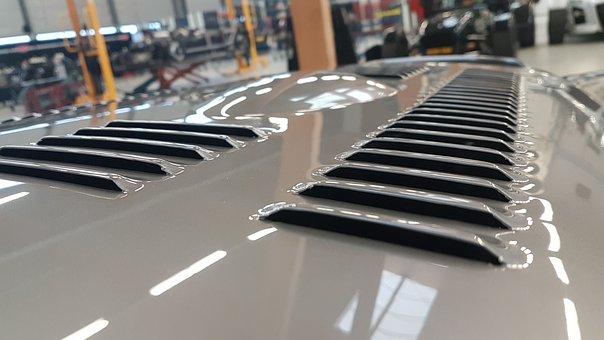 Auto, Hood, Air Intake, Grille, Automotive, Vehicle