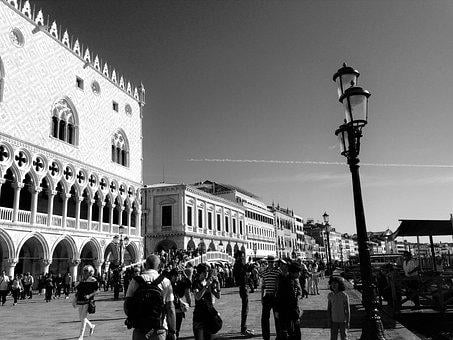 Venice, Italy, Venezia, Architecture, Historically