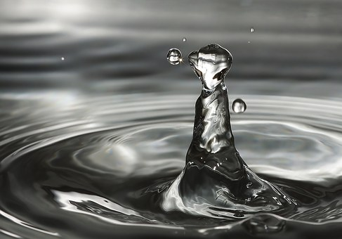 Water, Wave, High-jumping Water Drop