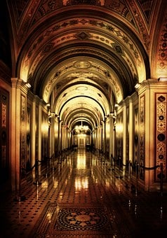 Washington Dc, Capitol, Floor, Gang, Architecture, Usa