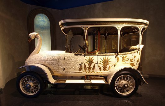 Brooke Swan Car, 1910, Car, Automobile, Vehicle