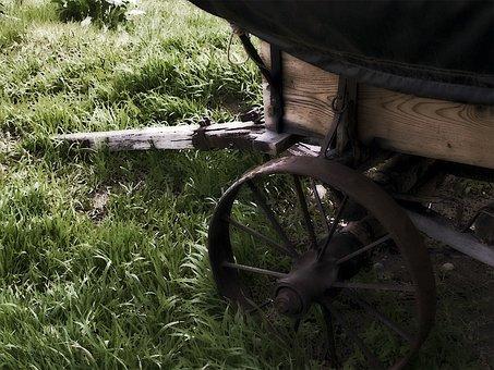 Wagon, Wooden, Heritage, Old, Wood, Wheel, Vintage