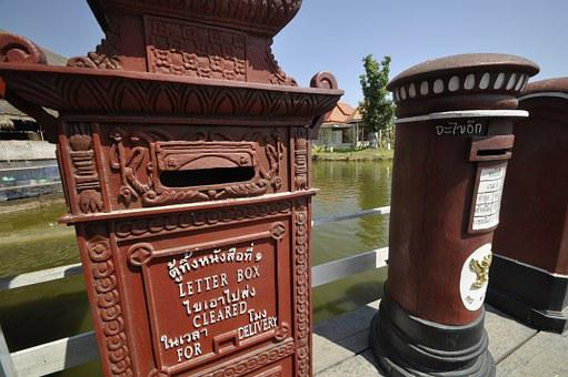 Letterbox, Water Market, Hua Hin