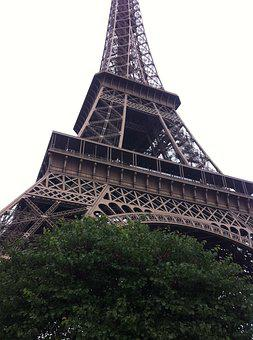 Eiffel Tower, Paris, Iron, Landmark