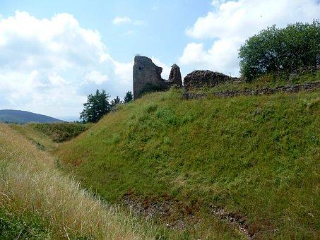 Castle, Ruins, Castle Flexible, Sights, Landscape