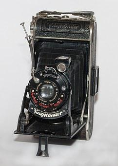 Camera, Voigtlander, Ancient
