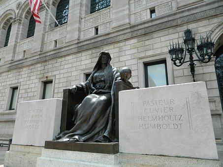 Boston Public Library, Library, Boston, Massachusetts