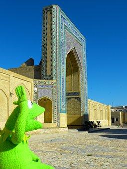 Bukhara, Medrese, Miri Arab, Islam, Building