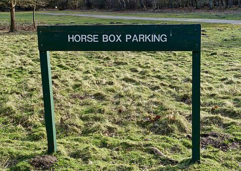 Parking, Horse, Sign, Symbol, Traffic, Regulatory