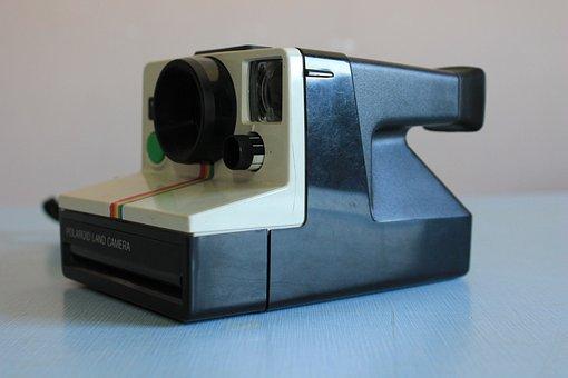 Polaroid, Polaroid Camera, Camera, Vintage, Retro