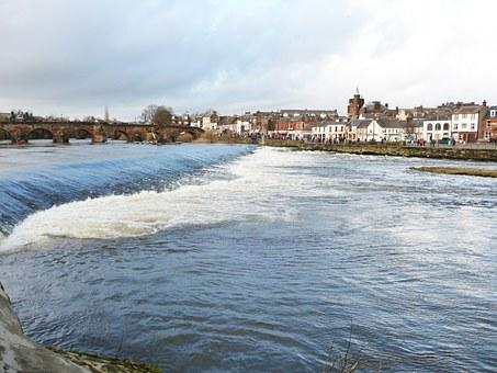Dumfries, Scotland, Nith, Galloway River, Picturesque