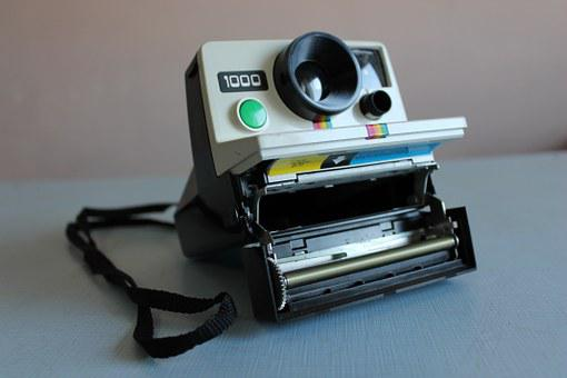 Polaroid, Camera, Photo, Photography, Vintage, Retro