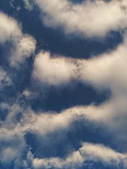 Sky, Blue, Nature, Weather, Clouds, Day, White