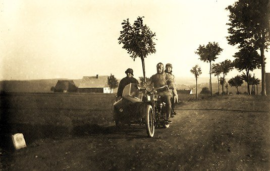 Motorcycle, Pillion, Sidecar, Sidecar Motorcycle
