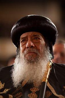 Turban, Shenuda Iii, Patriarch, Bart, Beard, Religion