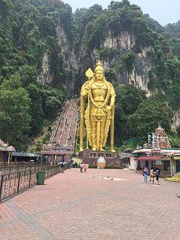 Batu Caves, Buddhist Temple, Indian, Mountains