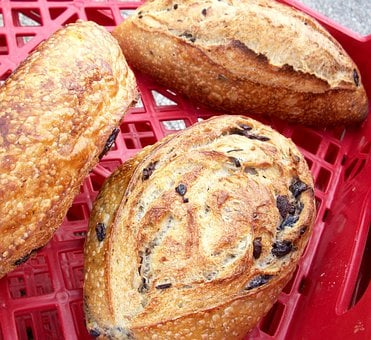 Bread, Olive Bread, Italian, Artisan, Fresh, Bakery