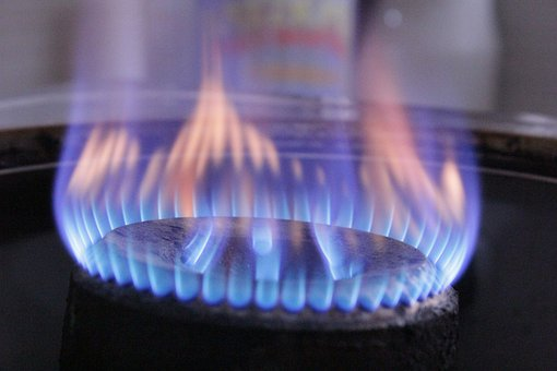 Gas, Fire, Hot, Cooking, Hotplate, Burner, Gas Stove