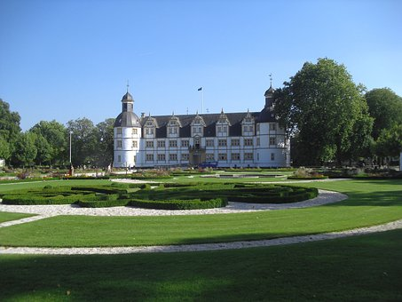 Paderborn, Germany, Neuhaus Schloss, Castle, Landmark