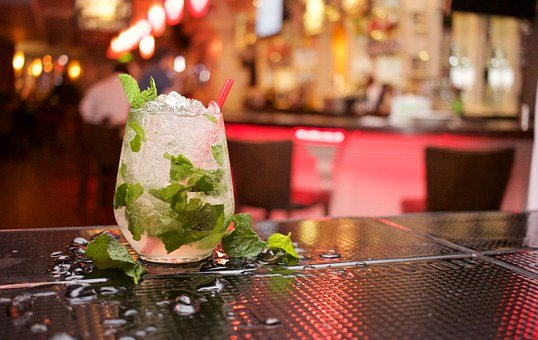 Mojito, Cocktail, Drink, Beverage, Alcohol, Mint Leaves