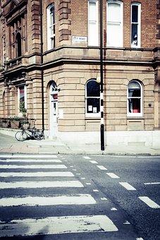 Zebra Crossing, Crossing, Road, Architecture