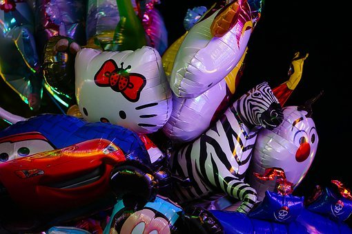 Smilie, Fair, Year Market, Grin, Plush, Soft Toy