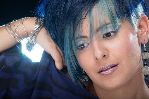 Hair Salons, Cutting, Colorimetry, Hair, Models, Woman