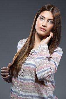 Hair Salons, Models, Hair, Color, Trick, Fashion