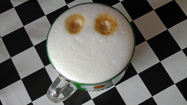 Latté, Smiley, Randomness, Mug