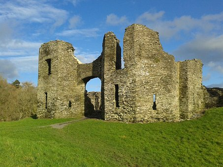 Newcastle Emlyn Castle, Norman, Welsh
