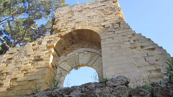 Norman Bow, Round Arch, Tufa, Historically, Sicily