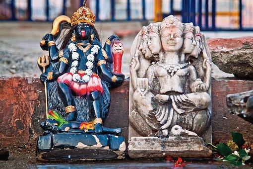 Durga, India, Travel, Goddess, Puja, Idol, Sculpture