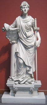 Sculptures, Justice, Pine, Carving, William, Rush