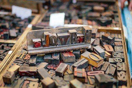 Woodtype, Wood Blocks, Wood Type, Print, Type, Vintage