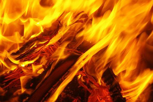 Fire, Flame, Embers, Carbon, Lighter, Wood, Brand