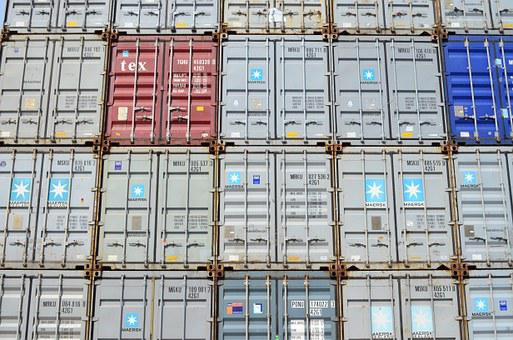 Container, Box, Wall, Marketing Hub, Port