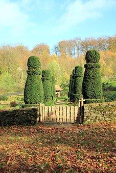 Hedge, Garden, Goal, Garden Gate, Fence, Boxwood