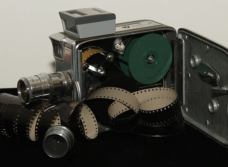 Antique, Camera, Film, Lenses, Keystone, Olympic, K-33