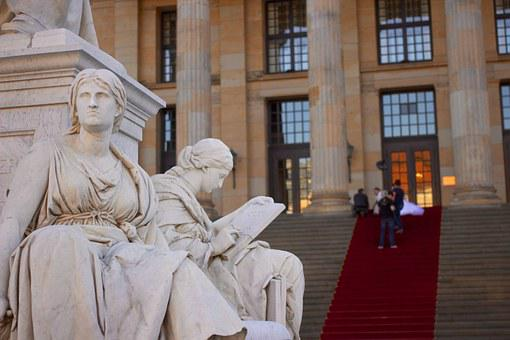 Schiller, Monument, Concert House, Berlin, Germany