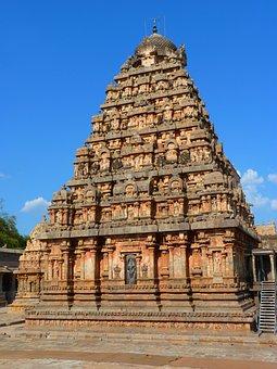 Temple, Darasuram, Chola Architecture, India