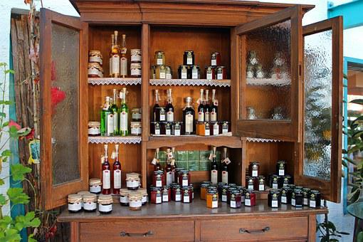 Cabinet, Display Case, Exhibition, Deco, Canning