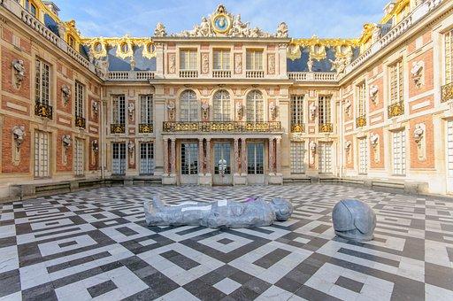 Versailles, Castle, France, Famous, Palatial